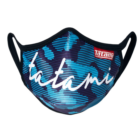 Signature Blue Face Mask