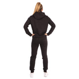 Ladies Dweller Tracksuit (Hoodie and Joggers) - Black