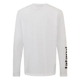 Base Collection - White Long Sleeve T-Shirt