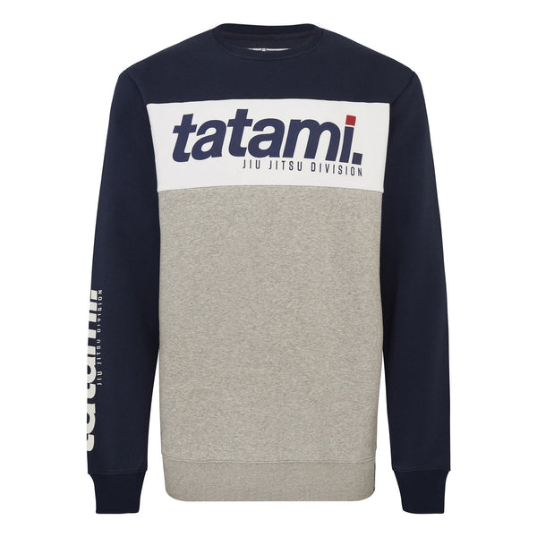 Base Collection - Navy Tri-Panel Sweatshirt