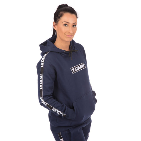 Ladies Dweller Tracksuit (Hoodie and Joggers) - Navy