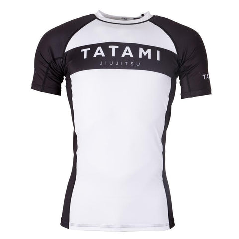 Original Rash Guard - White & Black