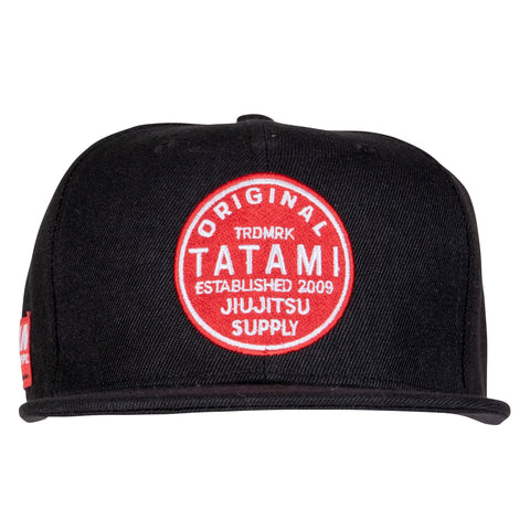 Tatami Boardwalk Snapback - Black