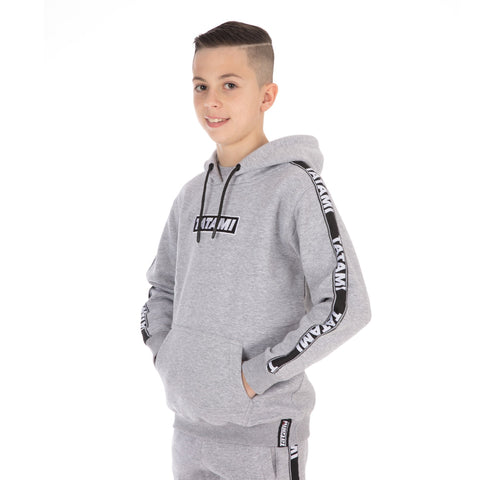 Kids Dweller Tracksuit (Hoodie and Joggers) - Grey