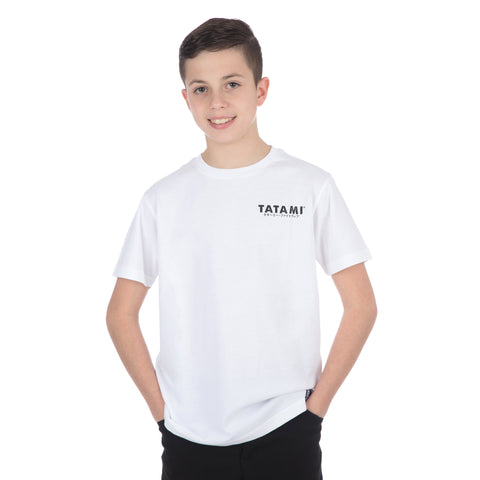 Kids Tiger Style T-Shirt White