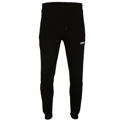 Absolute Black Tapered Trackpants