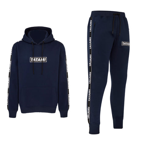 Dweller Tracksuit (Hoodie and Joggers) - Navy