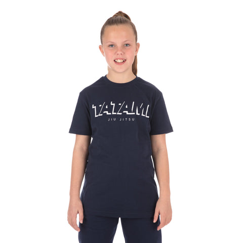 Kids Shadow Tshirt - Navy
