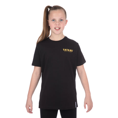 Kids Tiger Style T-Shirt Black
