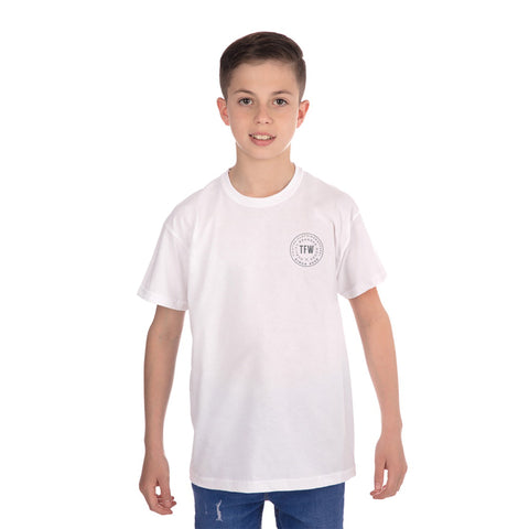 Kids Iconic T-Shirt White