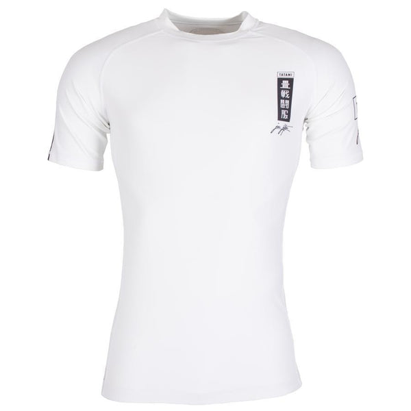 Kanagawa Short Sleeve Rash Guard - White