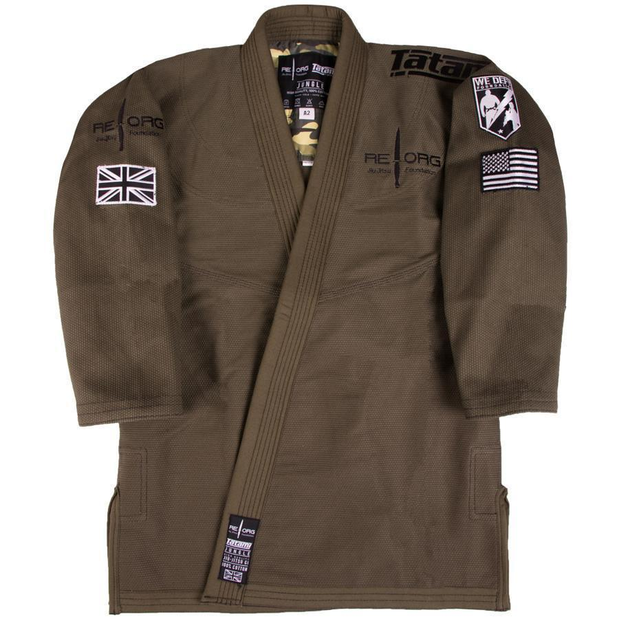 Tatami x REORG Jungle Gi Jacket Front