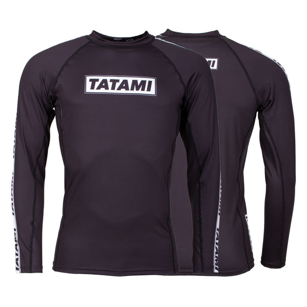 Dweller Long Sleeve Rash Guard - Black