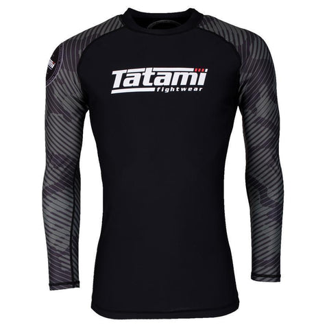 Renegade Green Camo Long Sleeve Rash Guard