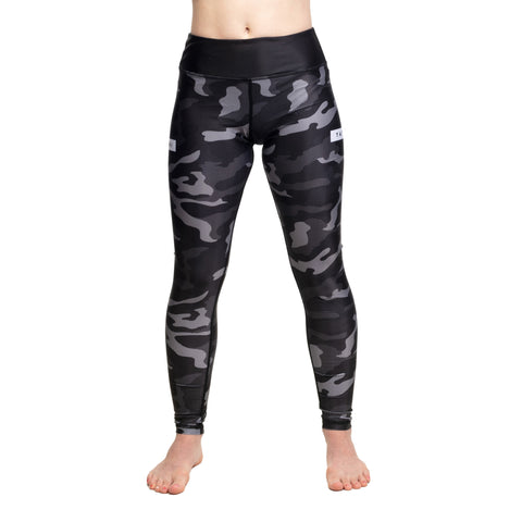 Ladies Rival Black & Camo Grappling Spats