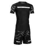 Rival Black & Camo Grappling Shorts
