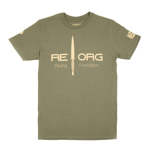 REORG Boxing Jungle Short Sleeve T-Shirt