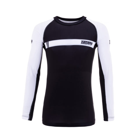 IBJJF 2020 Ranked Long Sleeve Rash Guard - White