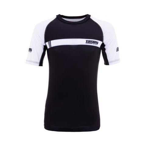 IBJJF 2020 Ranked Short Sleeve Rash Guard - White