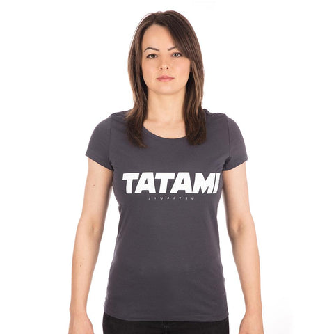 Ladies Essential T-Shirt - Ink Grey