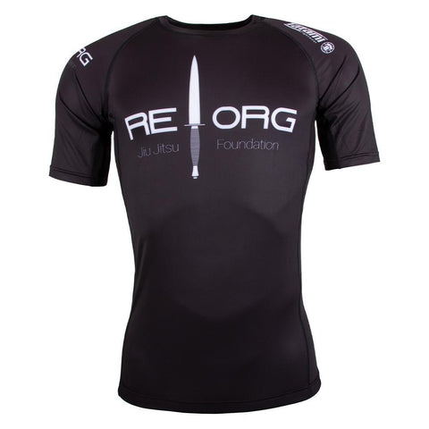 REORG Black Ops Short Sleeve Rash Guard