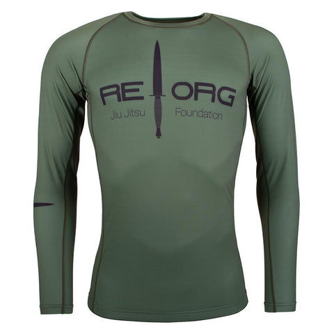 REORG Jungle Long Sleeve Rash Guard