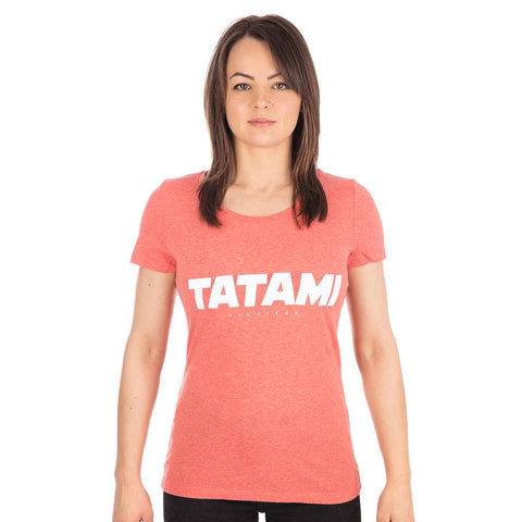 Ladies Essential T-Shirt - Heather Red