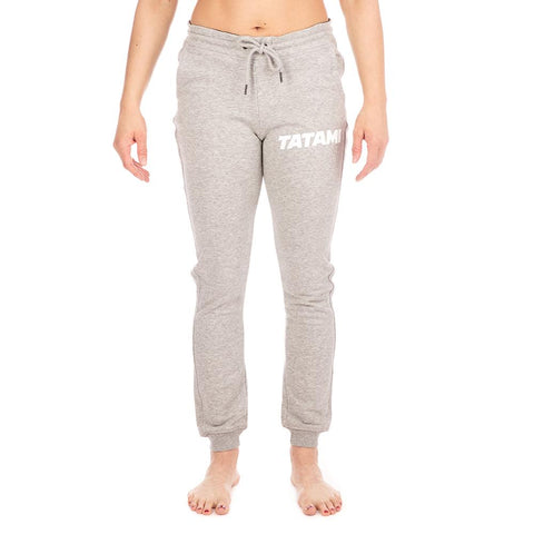 Ladies Essential Track Pants - Heather Grey
