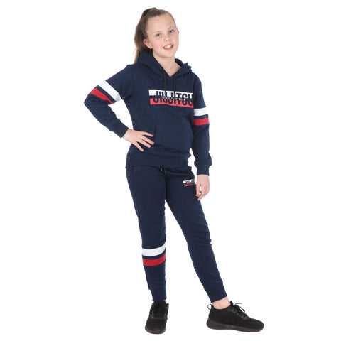 Kids Super Tracksuit (Hoodie and Joggers) - Navy