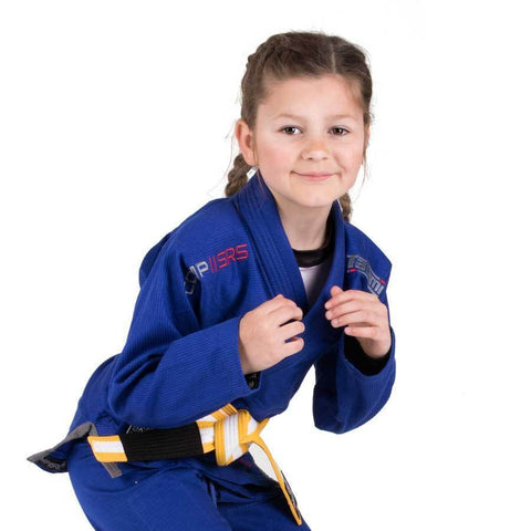 Kids Comp SRS Lightweight BJJ Gi - Blue