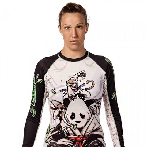 Ladies Gentle Panda Rash Guard