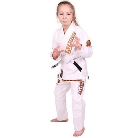 NEW Meerkatsu Kids Animal Gi - White