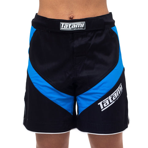 Ladies IBJJF 2020 Ranked Dynamic Fit shorts - Blue