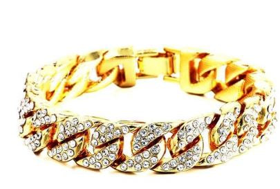 Iced Out Cuban Bracelet (Free)