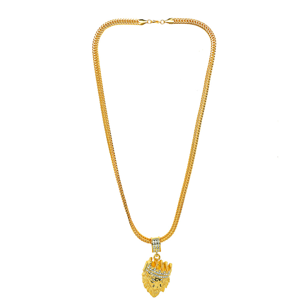 Lion Pendant: Best Selling Gold Lion Chain/Pendant