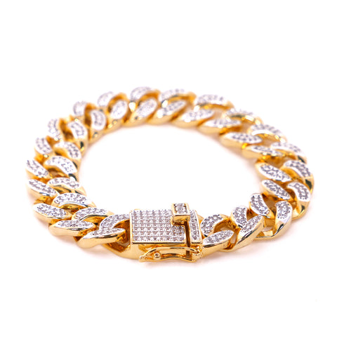 Image of Iced Out Cuban Bracelet (Special Offer)