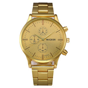 MiGeer Gold Watch