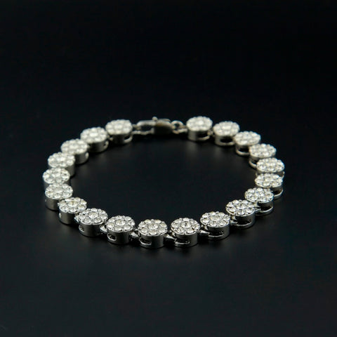 Gold Bling Iced Out Cz Bracelet for Mens