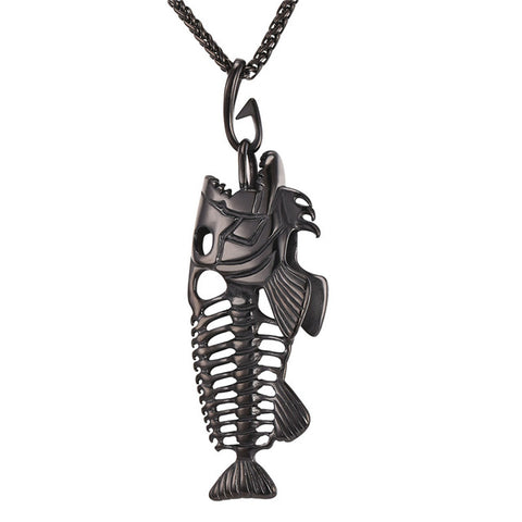 Image of Big Fish Bone Pendant