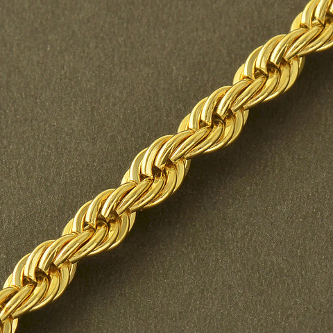 Image of Rope Bracelet 5 MM Thick Twisted Braided Chain Bracelet
