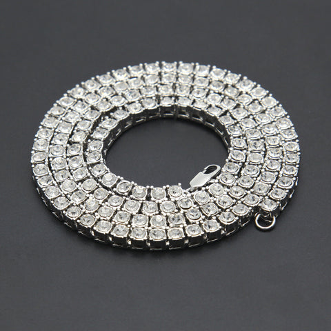 Image of Rhinestone Bling Men Bracelet