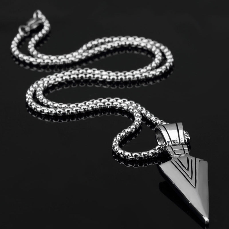 Arrow Pendant with Long Chain (Free)