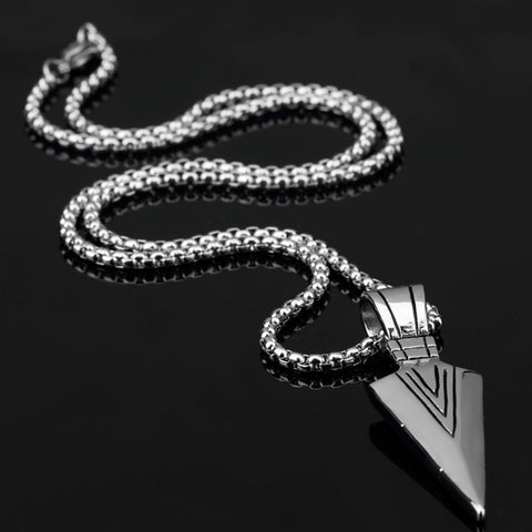 Image of Arrow Pendant with Long Chain (Free)