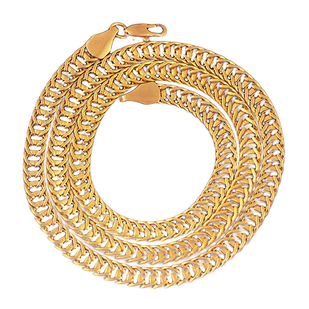 Gold Cuban Link Chain (Free)