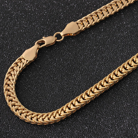Image of Gold Cuban Link Chain (Free)