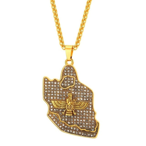 Image of Iced Out Pendant & Chain