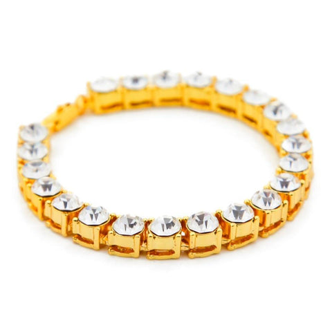 Image of 8mm Iced Out CZ Tennis Bracelet