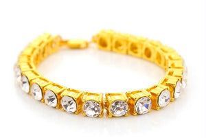 8mm Iced Out CZ Tennis Bracelet
