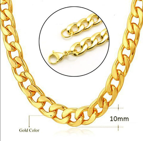 Image of Curb Cuban Gold Chain