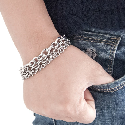 Image of Punk Rock Rolo Bracelet 3-in-1 (Free)